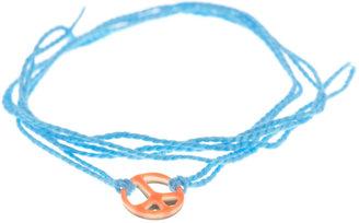 Aurelie Bidermann Peace charm bracelet