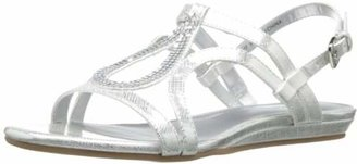 Bandolino Women's Aftershoes Synthetic Gladiator Sandal $29 thestylecure.com