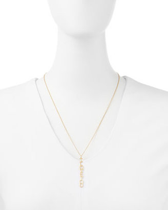 Jennifer Zeuner Jewelry Vertical I Love You Pendant Necklace