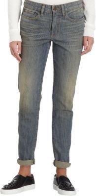 6397 'Dirty' Faded Stripe Jean