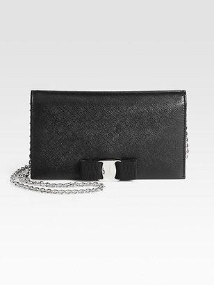 Salvatore Ferragamo Miss Vara Bow Chain Wallet