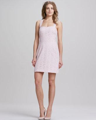Ali Ro Sweetheart Eyelet Lace Dress