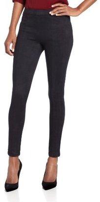 Level 99 Women's Elsie Micro-Suede Pant In Black