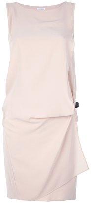 Brunello Cucinelli drop-waist asymmetrical dress
