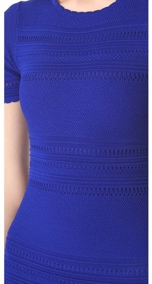 Torn By Ronny Kobo Loni Boho Pointelle Tunic Dress