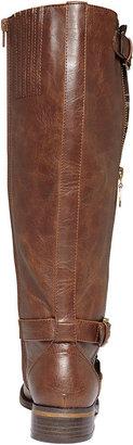 G by Guess Women's Hertlez Tall Shaft Wide Calf Riding Boots