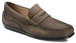 Ecco Classic Leather Moc Penny Loafers