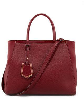 Fendi 2Jours Medium Tote Bag, Scarlet