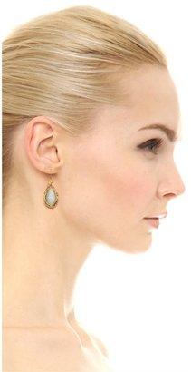 Alexis Bittar Feathererd Drop Earrings