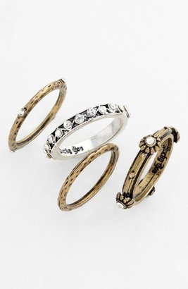 Stephan & Co Stackable Rings (Set of 4)