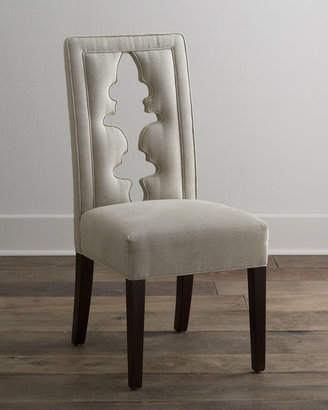 Haute House Bailey Linen Chair