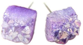 Noémiah Raw Quartz Lavender Crystal Quartz