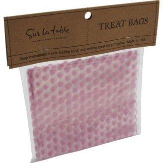 Sur La Table Pink Polka-Dot Cellophane Bags
