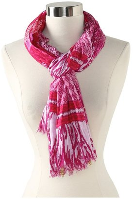 Hat Attack Pareo/Scarf (Pinks Geometric Multi) - Accessories