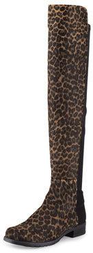 Stuart Weitzman 50/50 Wide Calf Hair Over-the-Knee Boot