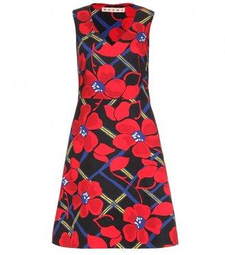 Marni COTTON FLORAL PRINT DRESS