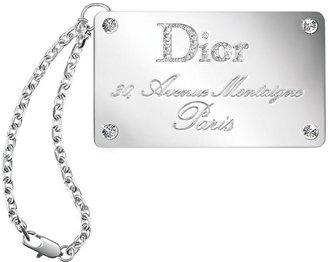 Christian Dior Addicted to Jeweled Lip Gloss Luggage Tag
