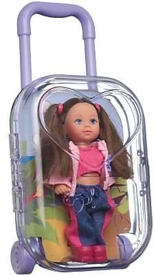 Steffi Evi Doll Air Hostess Trolley