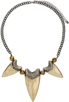 Topshop Tooth Collar Necklace
