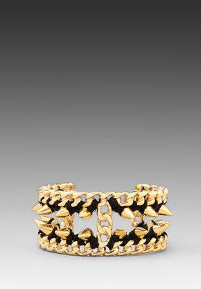 Ettika Gold Chain Cuff