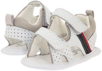 D&G Sandal (White) - Footwear