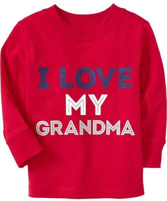 "Old Navy ""I Love My Grandma"" Tees for Baby"