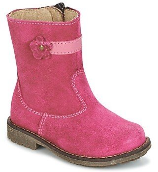 Citrouille et Compagnie PISTY girls's Mid Boots in Pink