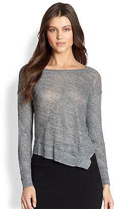Eileen Fisher Linen Ballet Sweater