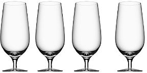 Orrefors Beer Collection Lager Glass, Set of 4