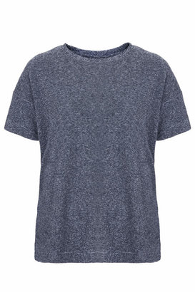 Topshop Super-soft towelling tee. 84% cotton, 16% polyester. machine washable.