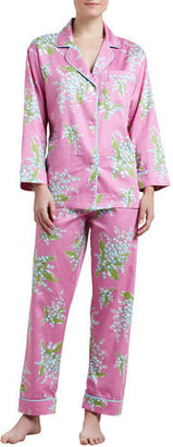Bedhead Lily of the Valley Classic Sateen Pajamas $140 thestylecure.com