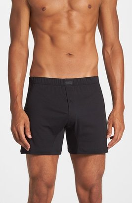 Men's 2(X)Ist Pima Cotton Knit Boxers $28 thestylecure.com