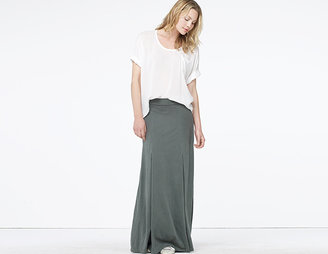 James Perse Box Pleat Long Skirt