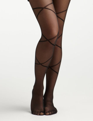Charlotte Russe Criss Cross Bow Tight