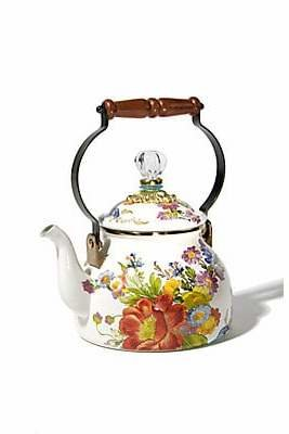 Mackenzie Childs MacKenzie-Childs MacKenzie-Childs Flower Market Tea Kettle