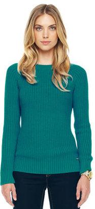 MICHAEL Michael Kors Shaker-Stitch Sweater