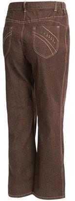 Stretch Denim Jeans - Straight Leg (For Plus Size Women)
