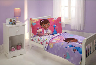 Disney Toddler Doc McStuffins 4-Piece Toddler Bedding Set