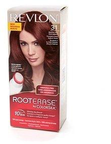 Revlon Root Erase by ColorSilk Ammonia-Free Permanent Color, Dark Auburn 31