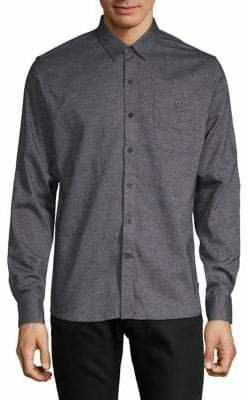 Dockers Novelty Flannel Button-Down Shirt