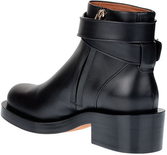 Givenchy Shark lock leather ankle boot