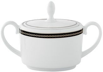 Vera Wang Wedgwood With Love Noir Imperial Sugar Bowl