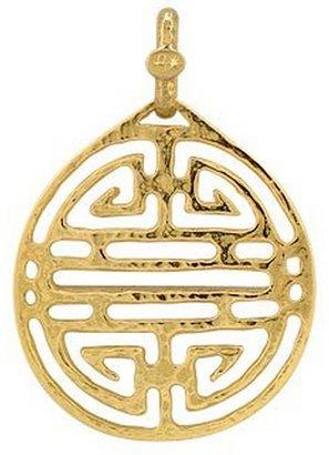 Torrini Chinese Labyrinth - 18k Yellow Gold Pendant