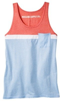 Mossimo Men's Tank Top - Hot Lips Red