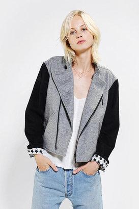 Alice Ritter Piplette By Wool Moto Jacket