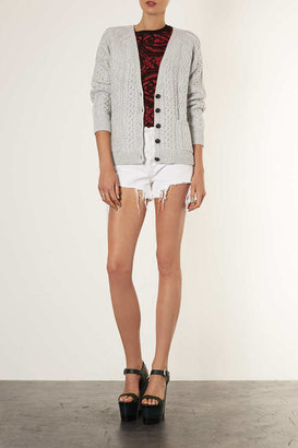 Topshop Knitted Cable Cardi
