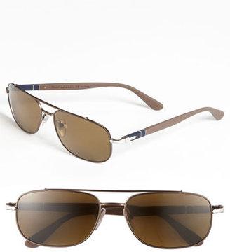 Persol 'Soft Touch' Polarized Aviator Sunglasses