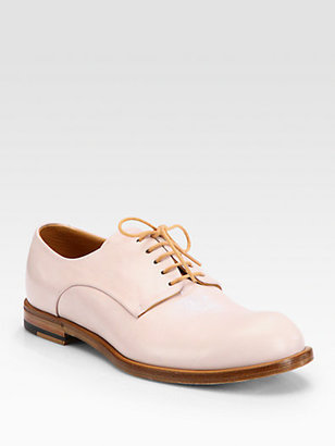 Jil Sander Leather Lace-Up Oxfords