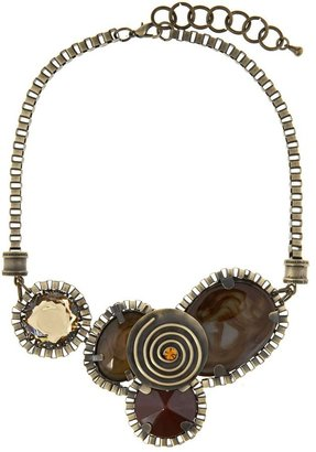 Erica Lyons Art Deco Bib Necklace