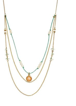Lauren Conrad bead swag necklace